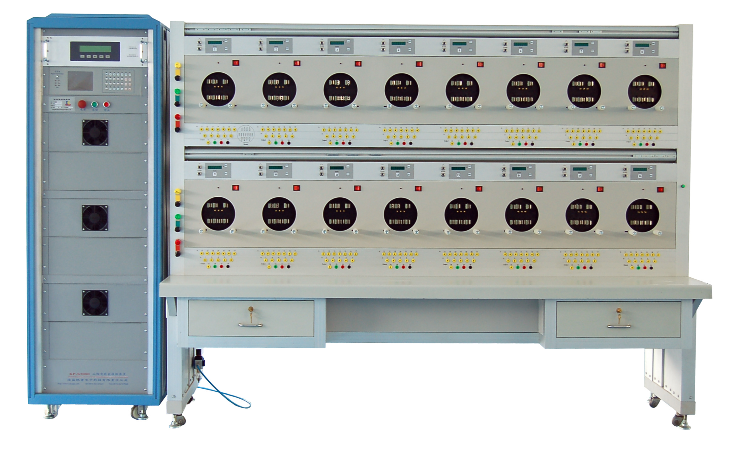 Three Phase Round Energy Meter Test Bench Type KP-S3000-C